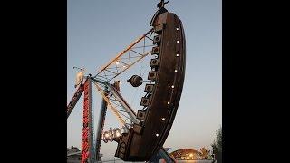 لعبة السفينة في مدينة الجبيهة الترويحية ...من أخطر الألعاب في عمان الأردن