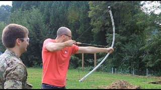 Powerful PVC Pipe Long Bow Under $10