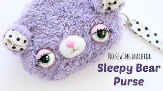 getlinkyoutube.com-DIY Kawaii Purse | Sleepy Bear Purse Sewing Tutorial | Kawaii Crafts
