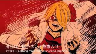 getlinkyoutube.com-Karakuri 卍 Burst [Kagamine Rin・Len Append][english sub]