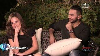 getlinkyoutube.com-لقاء تامر حسني وشيري عادل فى برنامج صباح الخير يا عرب HD   Tamer Academy