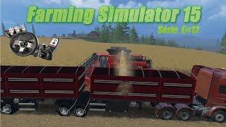 getlinkyoutube.com-Farming Simulator 15 Bitrem Graneleira Facchini Download + G27 Logitec
