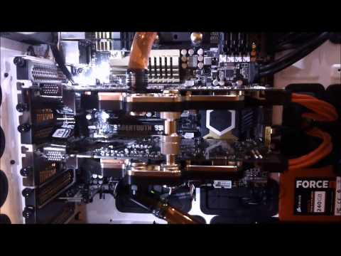 NZXT Switch 810 with 420/280 rad's Part2