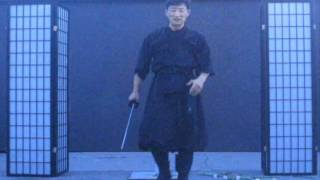 getlinkyoutube.com-Chosun Ninjato Part 1 ( Homestudy Indoor sword techniques) video #274