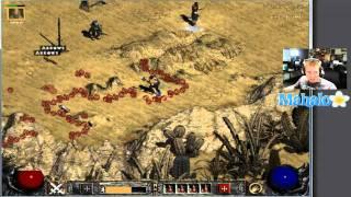 Diablo 2 Lord of Destruction - Paladin Walkthrough - Act 2.3 - The Rockey Waters