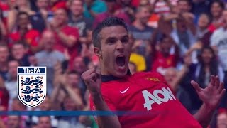 getlinkyoutube.com-Manchester United 2-0 Wigan Athletic - Community Shield 2013 | Goals & Highlights
