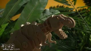 getlinkyoutube.com-R/C Do-it-Yourself Wooden Dinosaur Kits