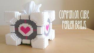 getlinkyoutube.com-3D Portal Companion Cube Tissue Box Tutorial