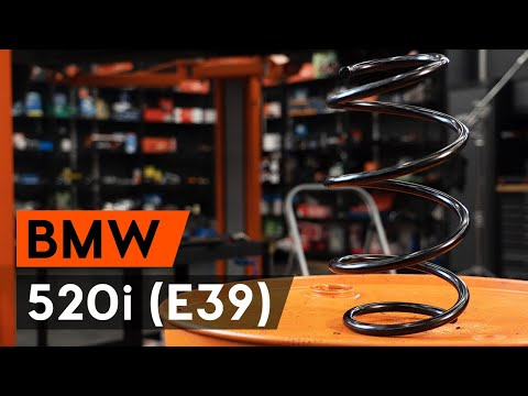 Как заменить пружину передней стойки амортизатора BMW 520i 4 (E39) (ВИДЕОУРОК AUTODOC)