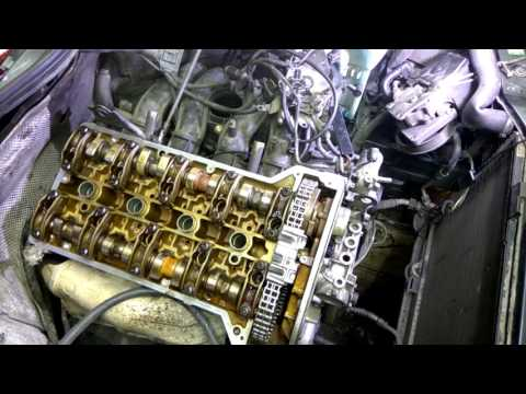 Мерседес, двигатель 111.945. Замена цепи, прокладки ГБЦ. День 6