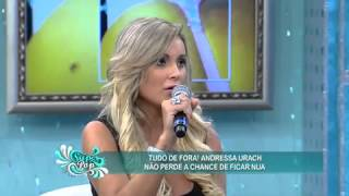 getlinkyoutube.com-SuperPop: Luciana Gimenez confere 'abundância' de Andressa Urach