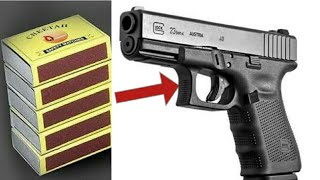 How to make a matchbox pistol that shoots...!!!