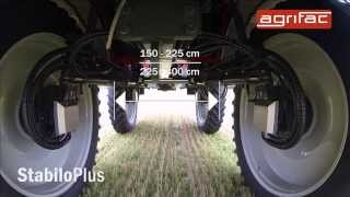 Agrifac Condor StabiloPlus - developed for one purpose: self-propelled spraying