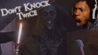 WHY DID WE KNOCK ON THIS LADY'S DOOR | Don't Knock Twice