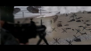getlinkyoutube.com-D-Day Movie, Overlord - Arma 2 I44 -