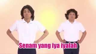 getlinkyoutube.com-Senam yang iya iyalah Versi 2nd COWCOW Original  - Indonesia  (Atarimae Taiso)