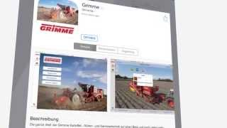 The brand new Grimme app - now available in the Apple App Store
