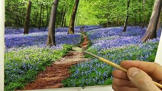 #87 Painting Bluebells! Michael James Smith