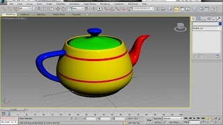 3ds Max - Multi Sub Object Material Tutorial