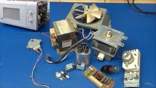 What's Inside A Microwave Oven (Teardown / Taken Apart) - Ec-Projects