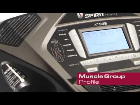 Διάδρομος Γυμναστικής Spirit XT385 3,5HP