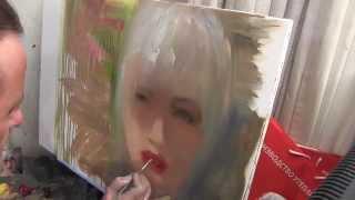 getlinkyoutube.com-Портрет девушки Основная техника