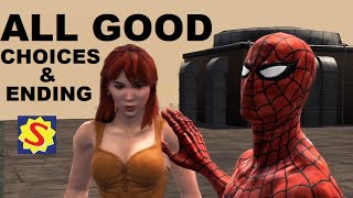 All Good Choices and Good Ending - Spider-Man Web of Shadows