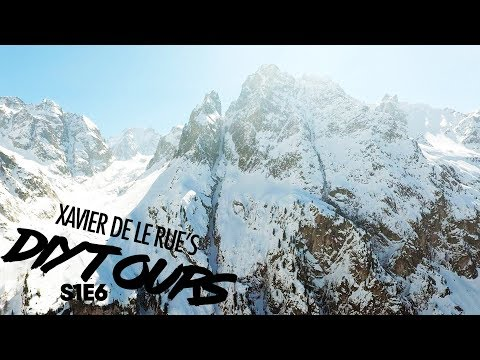 Xavier De Le Rues DIY Tour: Riding a 3,281-Foot Couloir with No Escape   Ep 7