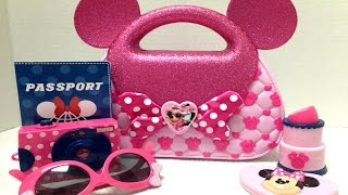 getlinkyoutube.com-حقيبة ميني ماوس دزني ماذا يوجد في شنطة ميني Minnie Mouse