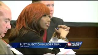 Testimony underway in butt injection trial