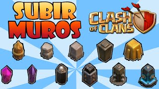 getlinkyoutube.com-Clash of Clans: COMO SUBIR LOS MUROS DE NIVEL RAPIDO! Trucos y consejos de Clash of Clans en español