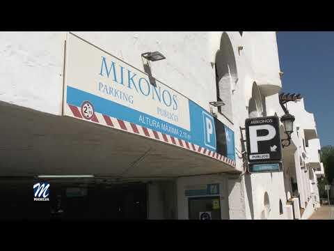 Aparcamientos en Mikonos y Ciudad Deportiva
