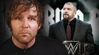 getlinkyoutube.com-Dean Ambrose exposes Triple H's weakness: March 9, 2016