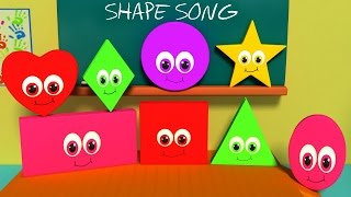 getlinkyoutube.com-Nursery Rhymes From Oh My Genius - the Shapes Song | shape song