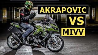 getlinkyoutube.com-Akrapovic vs Mivv Suono Kawasaki Z 1000 SX