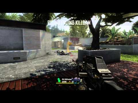 CoD Black Ops 2 w SF  Part 1 - Capture the Flag on Raid