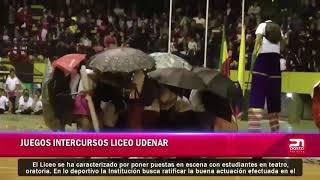 Juegos intercursos Liceo Udenar
