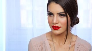 getlinkyoutube.com-Easy, Classic Red Lip Makeup Look | Makeup Tutorials and Beauty Reviews | Camila Coelho
