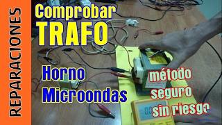 getlinkyoutube.com-Reparación microondas, parte 2. Transformador de alta tensión