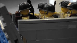 getlinkyoutube.com-LEGO D-Day Operation Neptune Part 1: Red Water