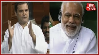 PM Modi Cannot Look Me In The Eyes, Says Rahul Gandhi; Modi Bursts Into Laughter