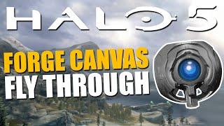 getlinkyoutube.com-Halo 5 - Forge Canvas Fly Through + New Blocks!