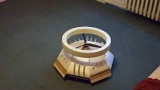 getlinkyoutube.com-My model of coanda effect flight sauser. The first successful test.