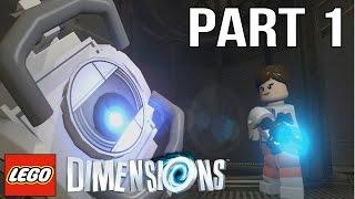 getlinkyoutube.com-LEGO Portal 2 Walkthrough Part 1 - LEGO Dimensions Portal 2 Level Pack