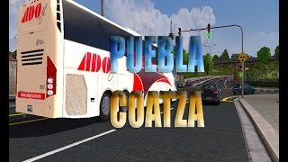 getlinkyoutube.com-ADO GL | Puebla-Coatza |Euro truck simulator 2| Map mex by ZOPIE!