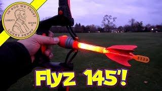 getlinkyoutube.com-Air Storm Firetek Light-Up Power Bow & Arrows - I Hunt Squirrels!!