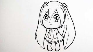 getlinkyoutube.com-วาดการ์ตูน กันเถอะ สอนวาดรูป การ์ตูน ฮะสึเนะ มิกุ ลงหมึก