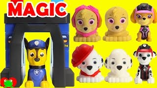 getlinkyoutube.com-Paw Patrol Change Into Mission Pups in Chase Magical Pup House Ionix Jr