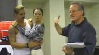 Colin Farrell Dance Rehearsal