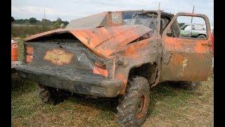 horseshoe mud racing MODIFIED CRASH!!!